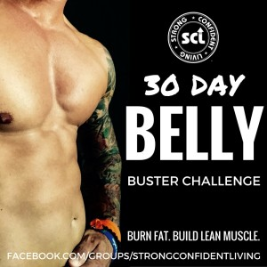 30 Day Belly Buster Male - Social Media