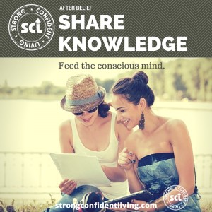 After Belief Share Knowledge